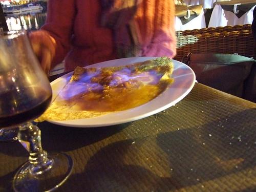crepes suzette grand marnier