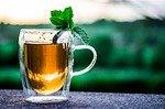 thé vert avec crepes